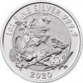 1 oz silver VALIANT 2019 U.K. £2