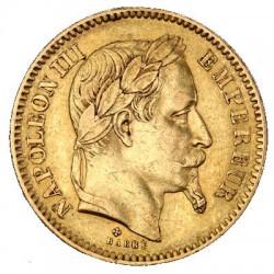 20 francs GOLD FRANCE NAPOLEON OR