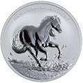 1 oz silver AUSTRALIAN STOCK HORSE 2017