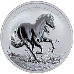 1 oz silver Australian BRUMBY HORSE 2020 $1