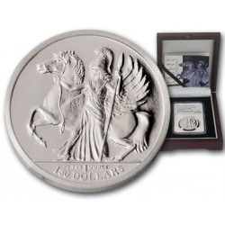 1 oz Palladium British Virgin Islands 2016 ATHENA Box + Coa