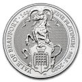 1 oz PLATINIUM PLATINUM QUEEN'S BEAST £100 YALE OF BEAUFORT 2020