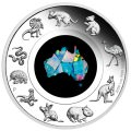 Great Southern Land 2020 1oz Silver Proof Opal Coin