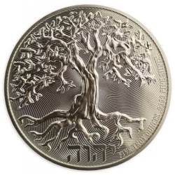 Niue 5 oz silver TREE OF LIFE 2020 $10