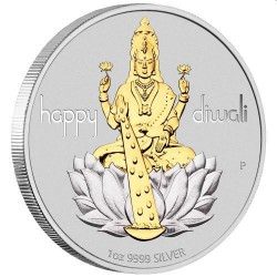 Diwali Festival 2019 1oz Silver in Magic Frame GANESHA