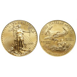 USA 1 oz GOLD Eagle 2011 PROOF + Coa