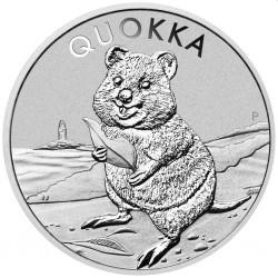 PM 1 oz silver QUOKKA 2020 $1