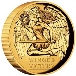 Winged Victory 2021 1oz Gold Proof High Relief Coin