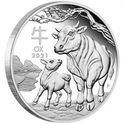 SILVER 2020 Year of the Mouse 1/2 oz PROOF $0.50