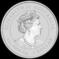 PM Lunar 3 Mouse 1 oz silver 2020 BU $1 Australia