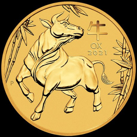 PM Lunar 3 Mouse 1/10 oz GOLD 2020 BU $10 Australia