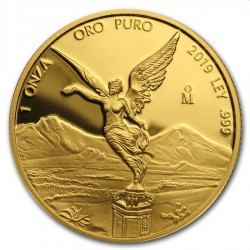 1 oz gold LIBERTAD 2019 PROOF