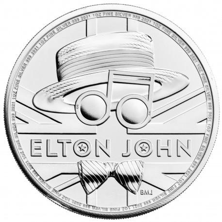UK 1 oz silver QUEEN 2020 £2 Music legends
