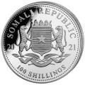 1 oz silver SOMALIA ELEPHANT 2020