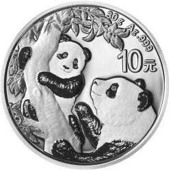30 GR SILVER PANDA 2021 Yuan 10