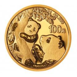 Gold CHINA PANDA 8 GR 2020 Yuan 100