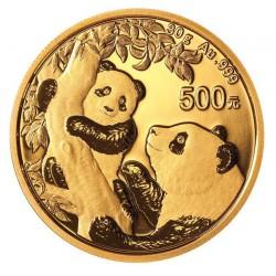 Gold CHINA PANDA 30 GR 2021 Yuan 500