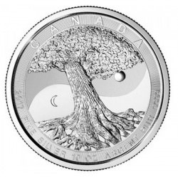 10 oz silver TREE OF LIFE 2017 Canada $50
