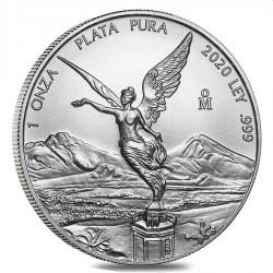 MEXICO 1 oz silver LIBERTAD 2020