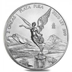 MEXICO 2 oz silver LIBERTAD 2020