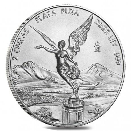 MEXICO 2 oz silver LIBERTAD 2019