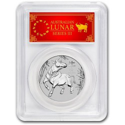 PM PLATINUM 1 oz OX 2021 $100 Australia PCGS MS-70