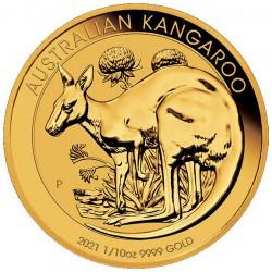 PM 1/10 oz GOLD NUGGET 2020 BU $15 Australia