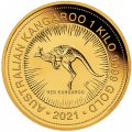 PM 1 kilo GOLD NUGGET 2021 BU $3000 Australia Pre-sale RED KANGAROO