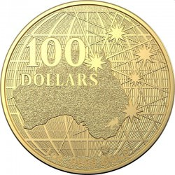 RAM 1 oz gold AUSTRALIA BENEATH THE SOUTHERN SKIES 2020 BU $100