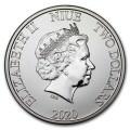 NIUE 1 oz silver Mickey Mouse CHRISTMAS 2020 $2