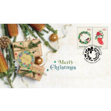 Christmas 2019 Stamp and Coin Cover