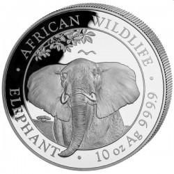 10 oz silver ELEPHANT 2020 Somalia Shillings 1000