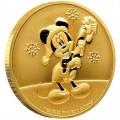 NIUE 1 oz GOLD Mickey Mouse CHRISTMAS 2019 $250