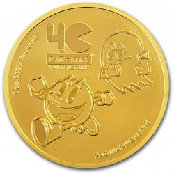 NIUE 1 oz GOLD PAC-MAN 40th ANNIVERSARY 2020 $250