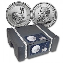 MONSTER BOX 500 x 1 oz SILVER KRUGERRAND 2021