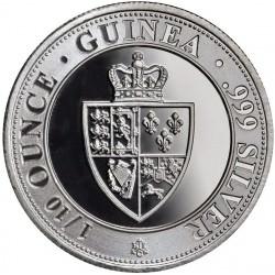 1/10 oz silver GUINEA 2020 St-Helena £10