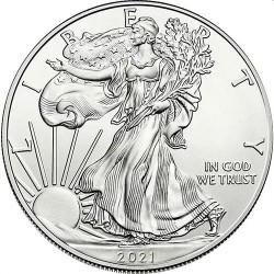 1 oz silver U.S. Silver EAGLE 2021 $1