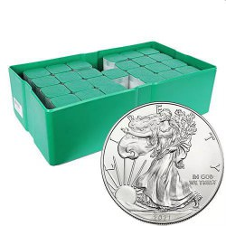 MONSTER BOX 500 x 1 oz US Eagle 2021 $1