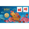 Year of the Mouse 2020 Stamp and Coin Cover