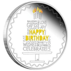 Happy Birthday 2021 1oz Silver Proof Coin