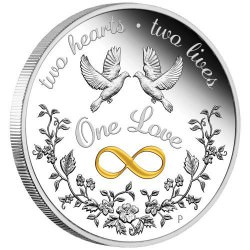 PM One Love 2021 1oz Silver Proof Coin