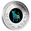 PM Australian Opal Lunar Series - 2020 Year of the Mouse 1oz Silver Proof Coin