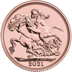 FULL GOLD SOVEREIGN 2021