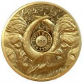 South Africa 1 oz gold BIG FIVE 2021 BUFFALO PROOF Box + Coa 50 Rand