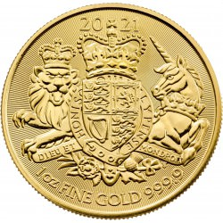 GOLD 1 oz GOLD The ROYAL ARMS 2021 £100