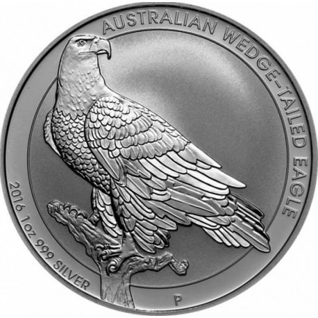 1 Oz Silver Wedge Tailed Eagle 2016 Goldsilver Be