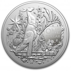 RAM 1 oz silver COAT OF ARMS AUSTRALIA 2021 $1