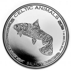 CHAD 1 oz silver Celtic Animals 2020 OX CFA500