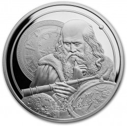 1 oz silver ICONS OF INSPIRATION 2021 GALILEO