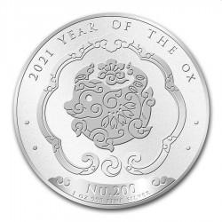 1 oz silver KINGDOM OF BHUTAN 2020 RAT NU200